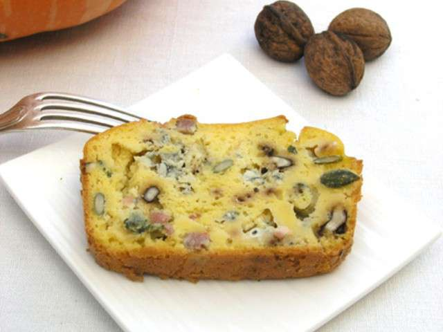 Cakes Au Bleu Et Lardons