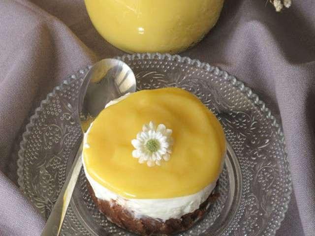 Recettes de cheesecake et fruit de la passion - Cheesecake fruit de la passion ...