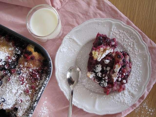 Recettes de crème anglaise et fruits