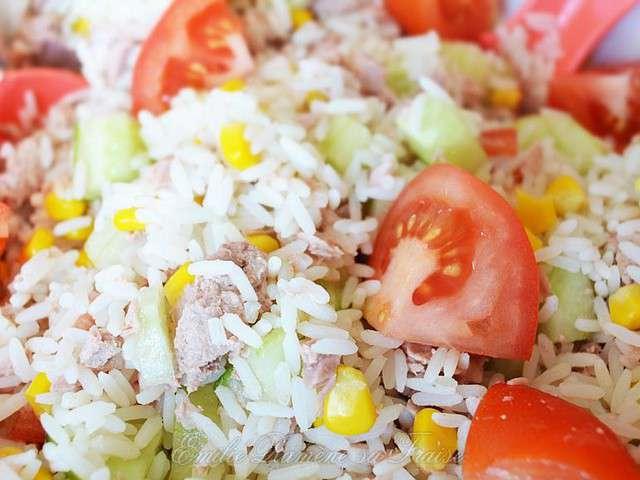 recettes de salade de riz et thon 2. Black Bedroom Furniture Sets. Home Design Ideas