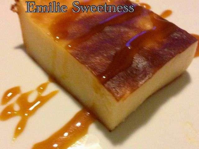 Recette flan patissier caramel