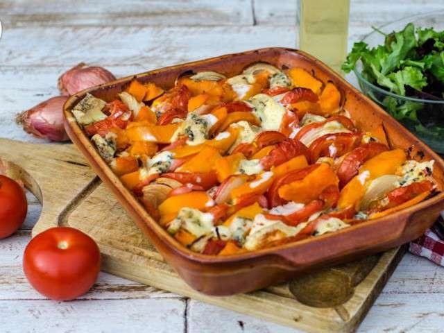 Recettes de bleu d 39 auvergne et tomates - Cuisiner un potimarron ...