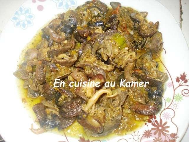 recettes d escargots de en cuisine au kamer