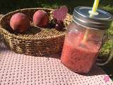 Smoothie Pêches Cerises