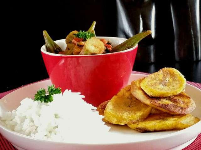 Recettes de frites et bananes for Banane plantain au barbecue