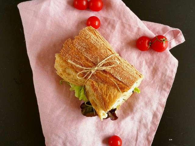 Recettes de sandwich v gan - Que mettre dans un panier garni ...