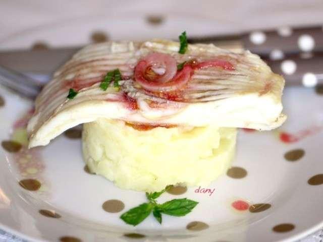 Recettes de raie et vinaigrette - Cuisiner l aile de raie ...