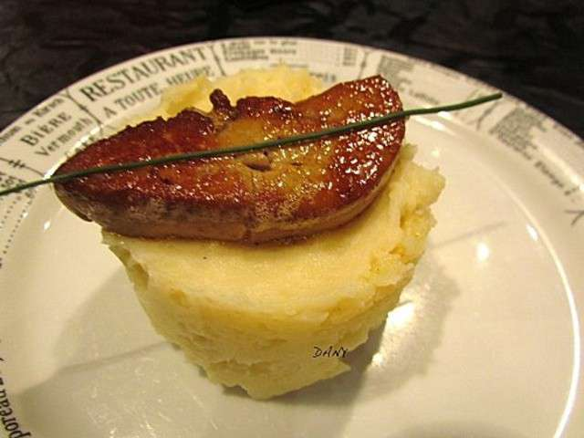 recettes de foie gras et pomme de terre 4. Black Bedroom Furniture Sets. Home Design Ideas