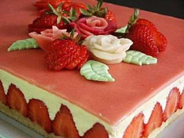 recette creme mousseline pour fraisier