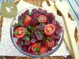 Salade de betterave rouge