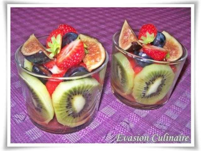 Recettes de salade de fruits et cuisine v g tarienne - Coupe de salade de fruits ...