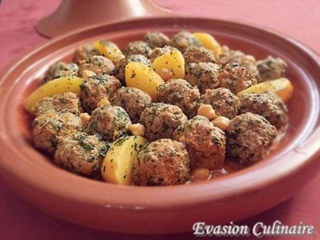 Recettes de boulettes de viande et pomme de terre - Comment cuisiner les boulettes de viande ...