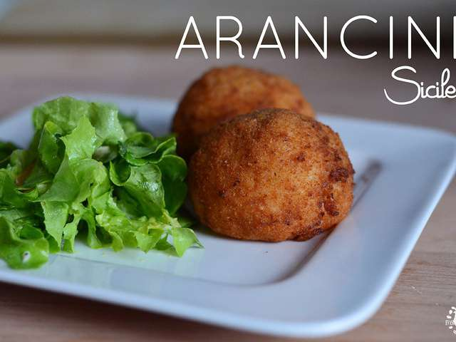 Recettes d 39 arancini et sicile - Cuisine sicilienne arancini ...