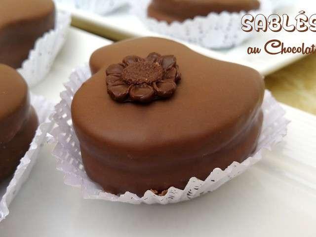 recettes de sablés au chocolat de fan de cuisine