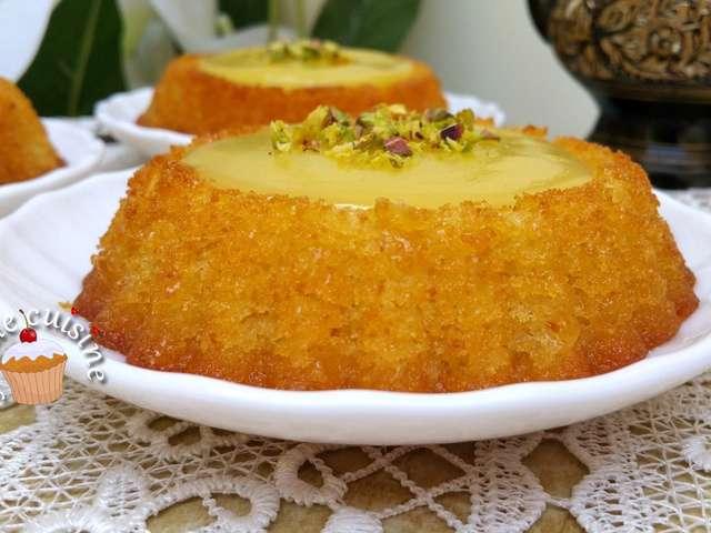 Recettes de basboussa et citrons for Amour de cuisine basboussa