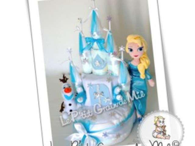 Recettes de reine des neiges de file dans ta cuisine for Chateau elsa reine des neiges