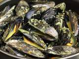 Moules, Sauce au curry (Thermomix)