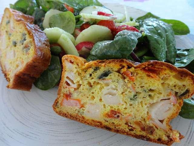 Cake Thon Et Tomates Confites
