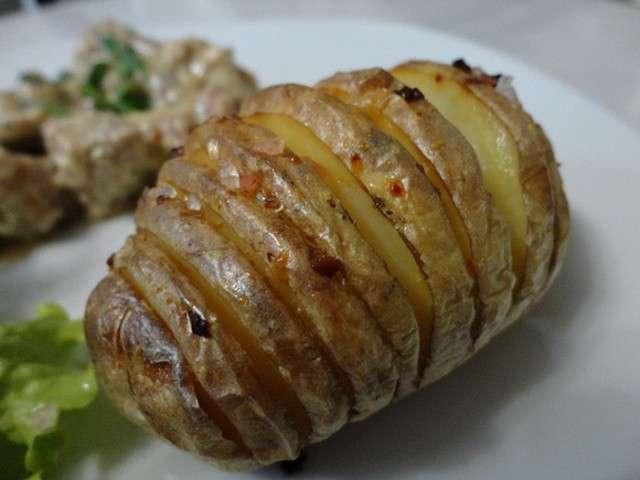 Recettes de facile et rapide - Pommes de terre a la braise ...