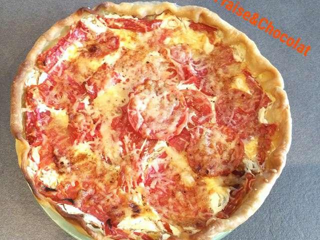 Recettes de tarte aux tomates de fraise chocolat - Recette tarte aux chocolat ...