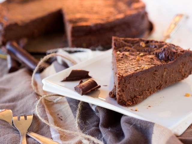Recettes de g teau au chocolat et farine - Gateau au chocolat sans farine ...