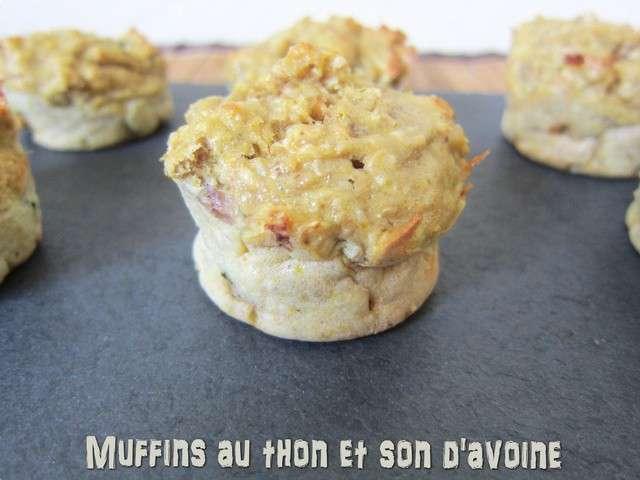 recettes de muffins et avoine 6. Black Bedroom Furniture Sets. Home Design Ideas