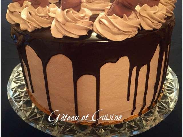 Recettes de layer cake 16 - Gateau kinder bueno facile ...