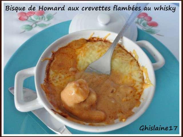 Recettes De Bisque De Homard Et Crevettes