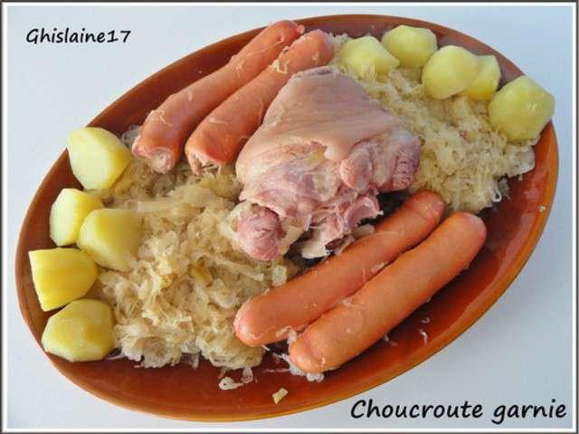 Recettes de Choucroute de Ghislaine Cuisine