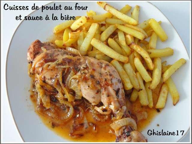 Recettes de poulet au four et poulet - Cuisse de poulet a la moutarde au four ...