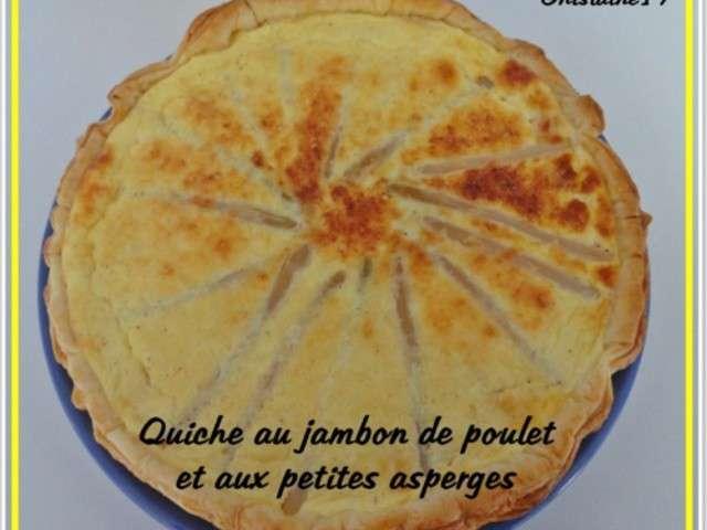 Recettes de quiche au jambon 2 - Recette de cuisine quiche au poulet ...