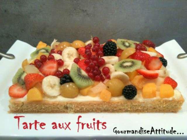 recettes de tarte aux fruits et sabl s. Black Bedroom Furniture Sets. Home Design Ideas