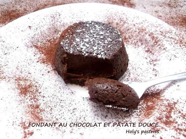 Les meilleures recettes de cuisine sans oeuf et chocolat 15 - Recette fondant au chocolat sans oeuf ...