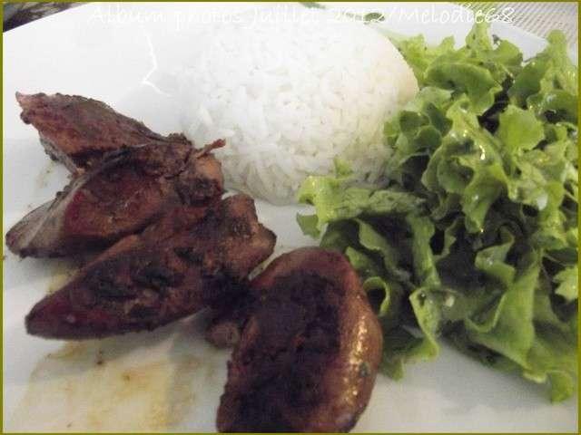 Les meilleures recettes de foie et salades - Salade verte composee ...
