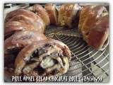 Pull apart bread chocolat roll de Loulou