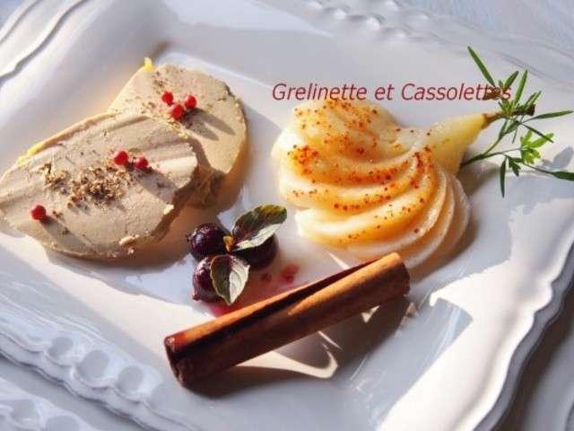 recettes de foie gras mi cuit et poire. Black Bedroom Furniture Sets. Home Design Ideas