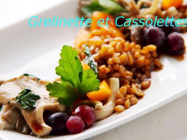Recettes de pleurotes et cuisine v g tarienne - Cuisiner le petit epeautre ...