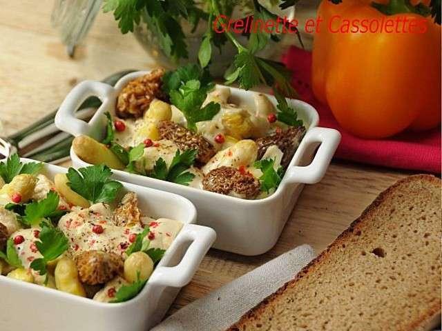 Les meilleures recettes d 39 asperges et morilles - Cuisiner des asperges fraiches ...