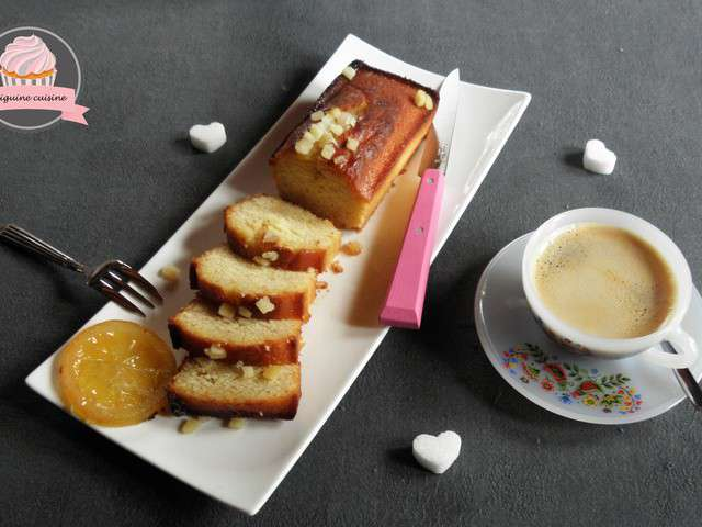 recettes de cake au citron et citron confit. Black Bedroom Furniture Sets. Home Design Ideas