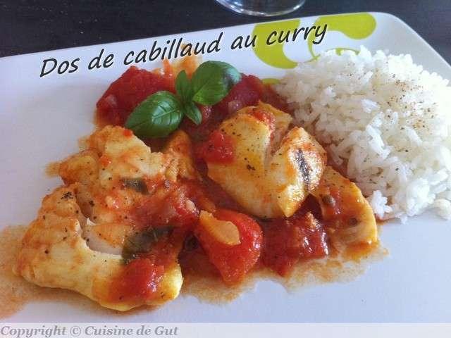 Les meilleures recettes de curry et cabillaud - Cuisiner un dos de cabillaud ...