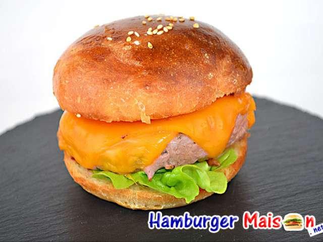 Recettes de hamburger maison - Recette hamburger maison original ...