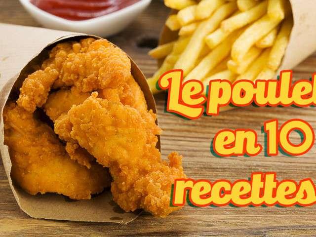 Recettes de poulet de hervecuisine for Blog de cuisine facile
