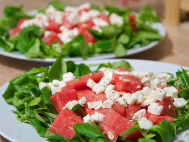 recettes de salade fraicheur et t. Black Bedroom Furniture Sets. Home Design Ideas