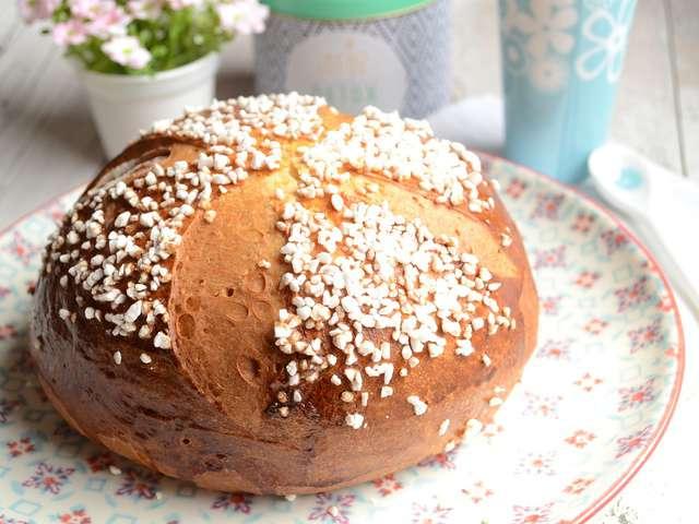 recettes de pâques et mouna