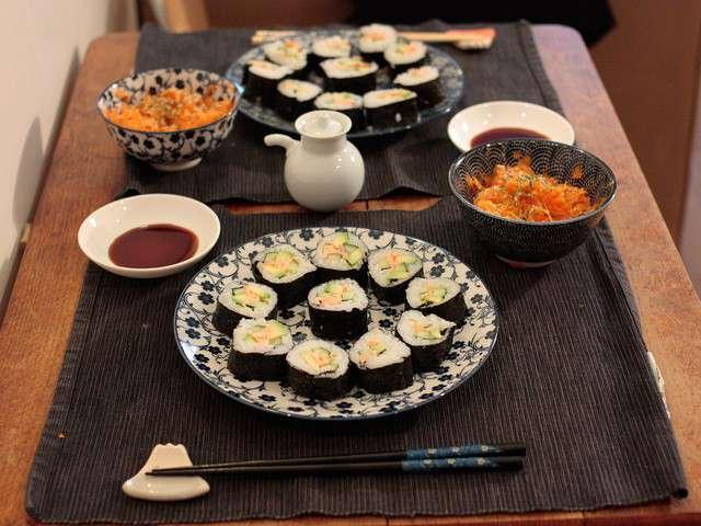 Recettes De Sushi Et Concombre
