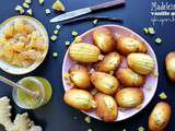 Madeleines vanille bourbon et gingembre au i-Cook'in