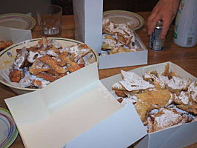 Recettes de bugnes et bugnes lyonnaises 4 - Specialite lyonnaise cuisine ...