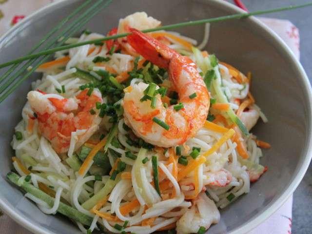 Recettes de nouilles de riz et cuisine sans gluten - Recettes cuisine sans gluten ...