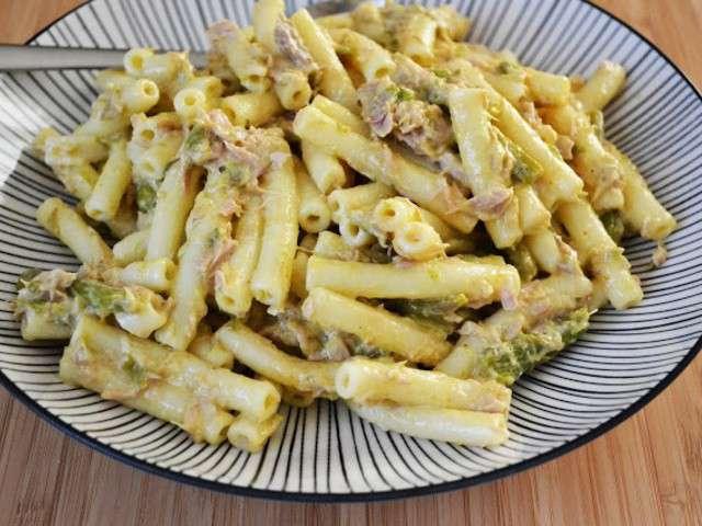 recettes de salade de p 226 tes et thon