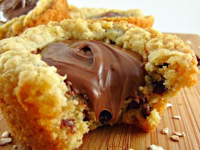 les meilleures recettes de cookies et nutella 2. Black Bedroom Furniture Sets. Home Design Ideas